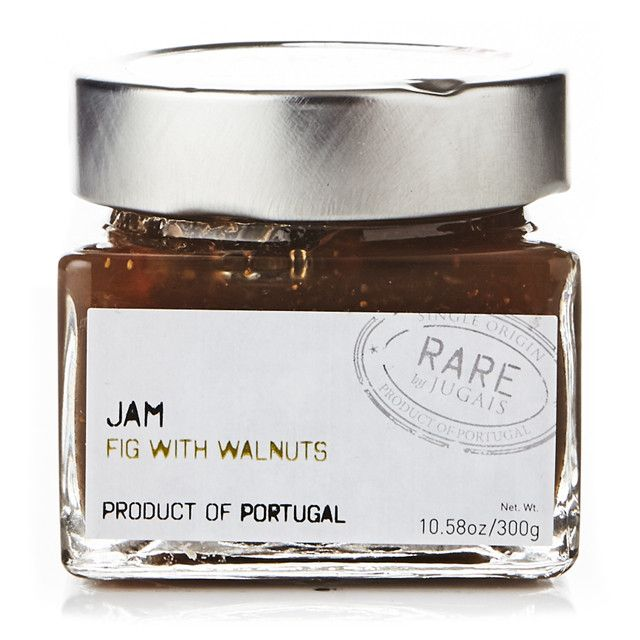 RARE by Quinta de Jugais crafts premium spreads in Serra da Estrela using traditional Portuguese recipes. The subtle sweetness of this fig jam with crunchy walnuts is a perfect addition to any cheese