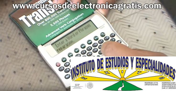 CURSOS DE ELECTRÓNICA GRATIS: REPARACIÓN DE TRADUCTOR ESPAÑOL-INGLES PARTE 2