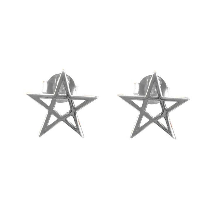 Pentacle Star Earrings - Correy & Lyon  - 1