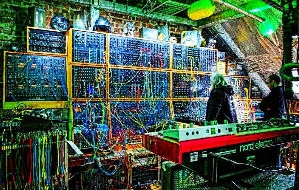 Back in 1963 Bob Moog made his first modular synth! This is where it all began for electronic creation and replication of sound! They were a bit bigger and slightly more expensive all those years ago though! Check out Bob Moog synth legacy timeline - http://www.moogmusic.com/legacy/bob-moog-timeline #moog #synth #guitarguitar