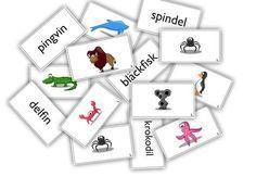 Här får eleverna träna både sin avkodning och bygga upp sitt ordförråd på ett lekfullt sätt genom att para ihop ord med bild. Orden finns i olika svårighetsnivåer och kan varieras för att passa elevernas individuella nivå.