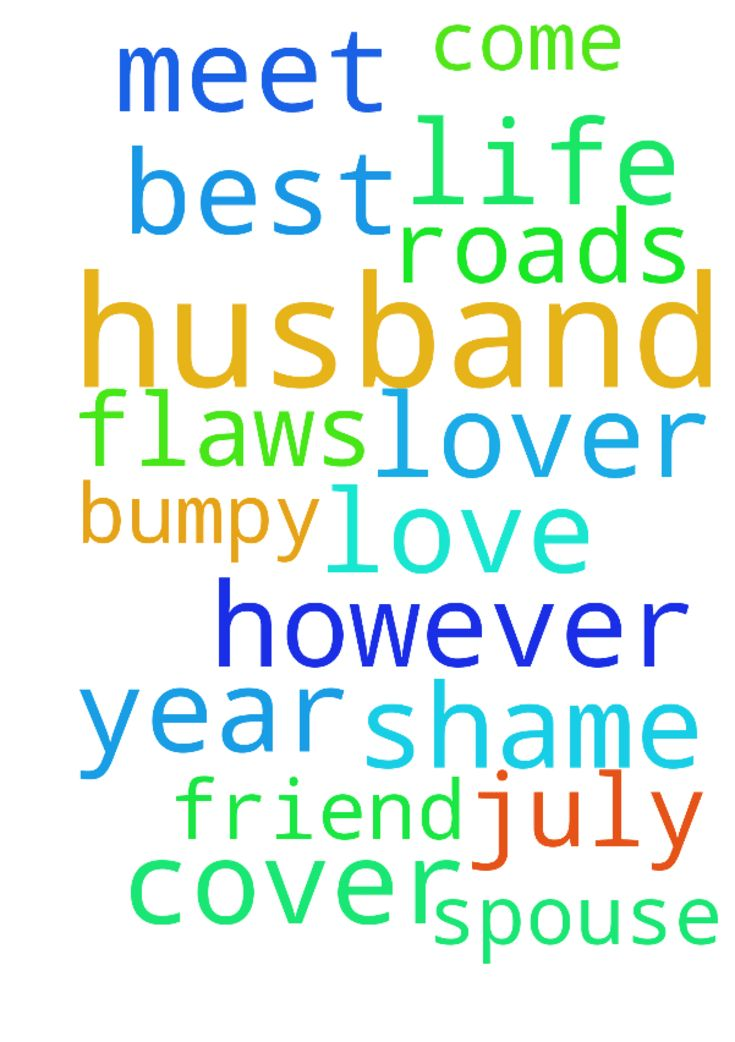 Praying for a husband -  Dear father God, This year had a few bumpy roads, however I just pray in Jesus name that in July 2017. I will meet my spouse, my husband, my best friend and lover. I pray he will come to my life and cover my shame and love flaws and all.  Posted at: https://prayerrequest.com/t/JR7 #pray #prayer #request #prayerrequest