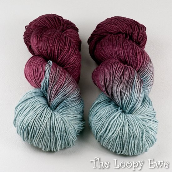 Three Irish Girls Glenhaven Cashmerino Fingering ~ Marin
