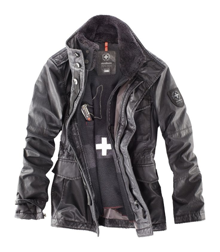 Strellson Swiss Cross Revival Jacket With Swiss Army
