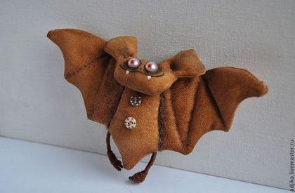 Ароматизированные куклы ручной работы. Ярмарка Мастеров - ручная работа Летучая мышь Бабайка. Handmade.