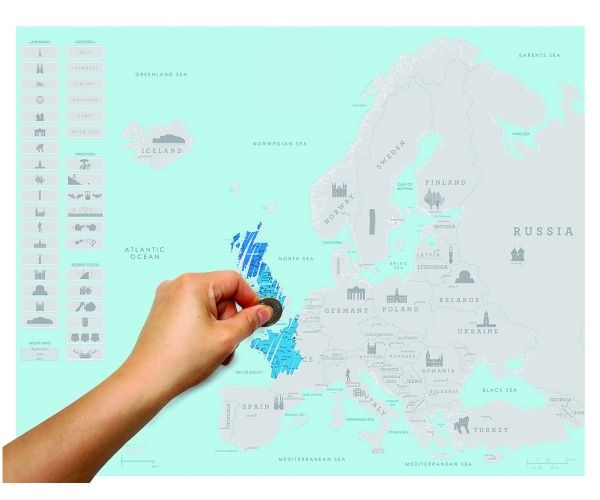 27 best for the adventurers images on pinterest maps travel backpacking across europe this summer keep this map handy to keep a track of your travels scratch map euro edition mywamli travel scratch map gumiabroncs Gallery
