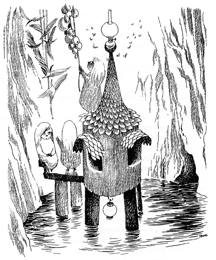 Tove Jansson | click here for the full-size image (1333x1600,678Kb)
