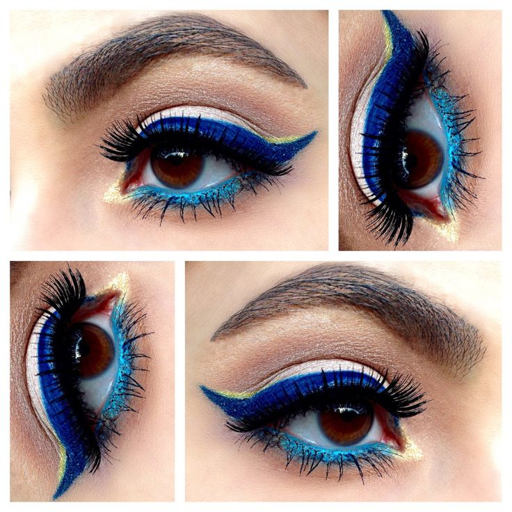 17 best images about blue make up on pinterest