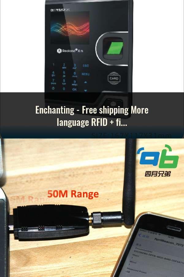 Free shipping More language RFID + fingerprint +face time