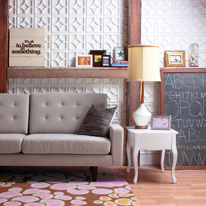 Decorative Wall Tiles For Living Room Cool Luna Wall Flats  Lightweight Dimensional Wall Tiles  Home Decor Design Inspiration