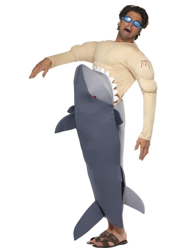 Jaws-kostuum voor mannen : Vegaoo Volwassenen Kostuums