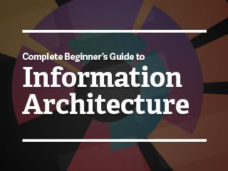 Information architecture is an often misunderstood job title. Are they designers? developers? managers? All of the above? In this article we'll discuss what information architecture is, why it's related to usability, and what are the common tools/programs used in information architecture.