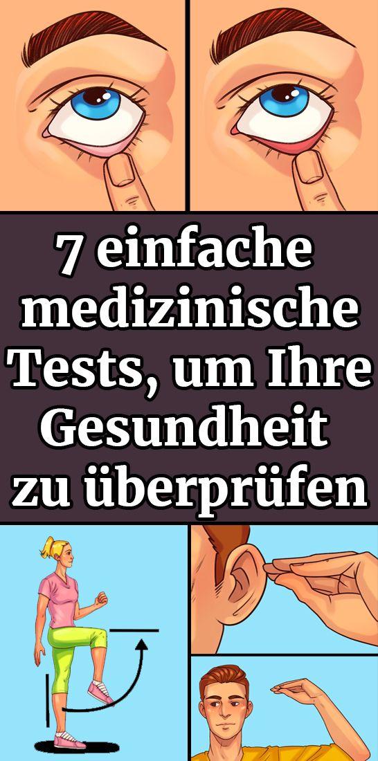 7 einfache medizinische Tests, um Ihre Gesundheit zu überprüfen