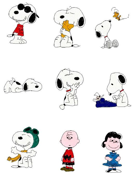 Free Brother Embroidery Designs | of 200 SNOOPY PEANUTS Machine Embroidery Designs. All designs ...