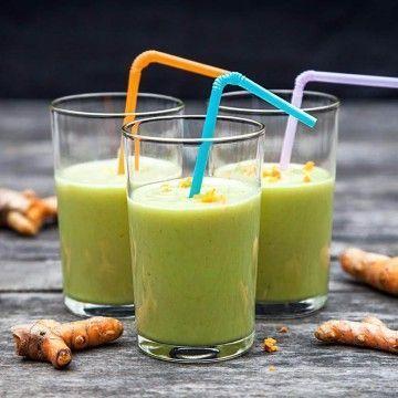 Avokado- och banansmoothie