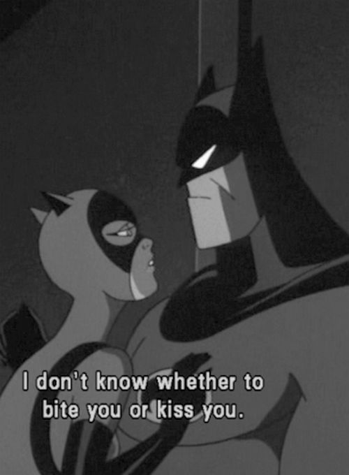 I have that same issue with my Catwoman. Not that I'm complaining mind you.  ;D                                                                                                                                                     More