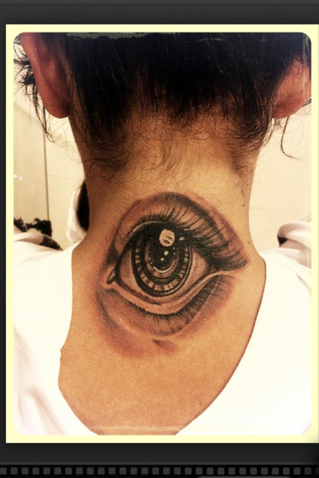 Lens eye