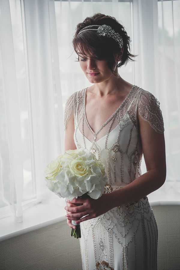 Another glorious example of Jenny Packham's Eden gown ♥