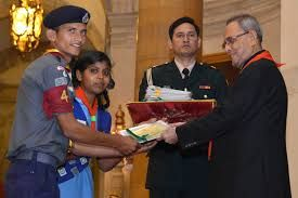 #President of India presents the #Rashtrapati #scout/guide/rover/ranger and #adult leader awards/certificates The President of India, Shri Pranab Mukherjee presented the Rashtrapati Scout/Guide/Rover/Ranger and Adult Leader Awards/Certificates for the year 2015 at a function held at Rashtrapati Bhavan (December 5, 2016).  Read more at: http://www.mahendraguru.com/2016/12/spotlight-6-dec-500-pm.html Copyright © Mahendras