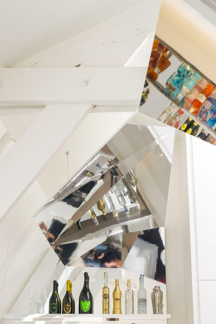 home mirror bar construction made by FABRIKAAT design by Van Staeyen Interieur