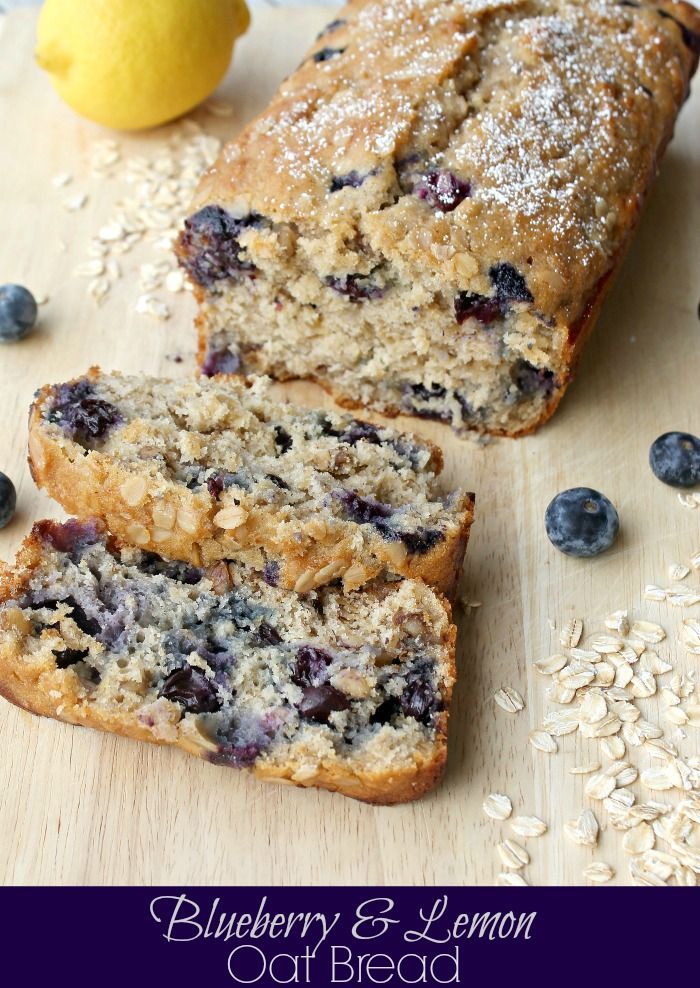 Lemon Blueberry Bread by Penney Lane Kitchen