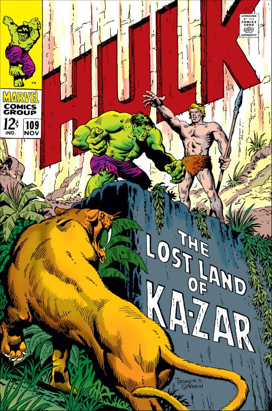 99 best my silver age comics collection images on pinterest marvel comics retro the incredible hulk comic book cover the lost land of ka zar marvel comics poster 30 x 46 cm fandeluxe Image collections
