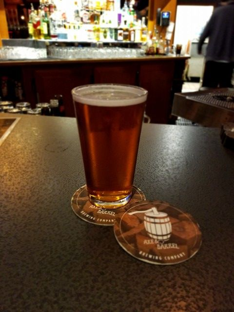 Speedway Rye Pale Ale from Axe & Barrel Brewing Company in British Columbia, Canada, is a full-bodied mix of citrus, rye, fruity malts, and more. Perfection.