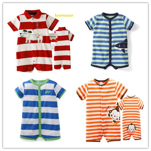 Retail, Carters and Kamacar's Baby Boys Summer Short Sleeve Bodysuit , Freeshipping $13.98