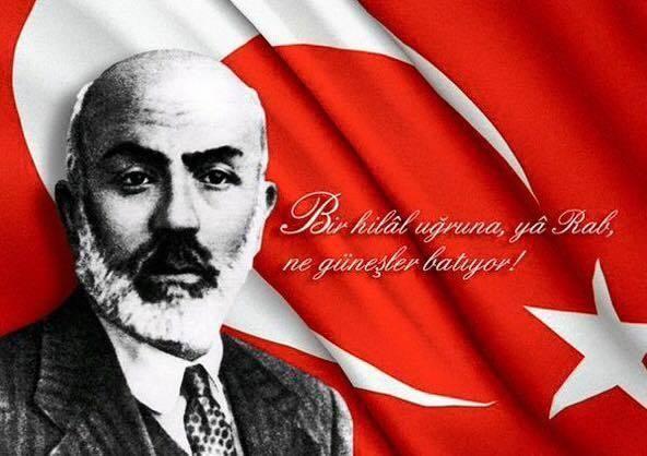 Ebediyete irtihalinin 78. yıl dönümünde İstiklâl Marşı Şairimiz Mehmet Akif Ersoy'u rahmet, şükran ve saygıyla anıyorum.