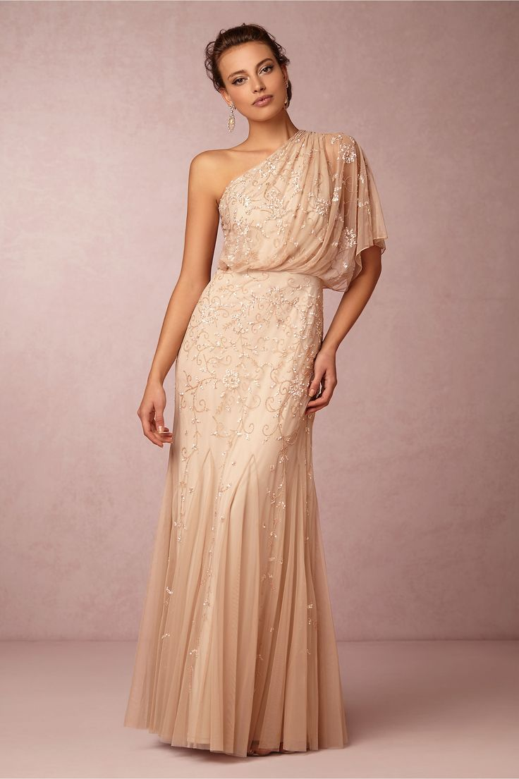 Raquel dress by adrianna papell for bhldn bhldn stylist for Adrianna papell wedding guest dresses