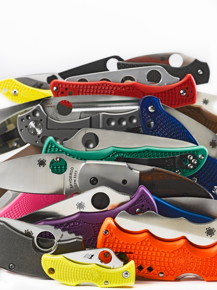 Spyderco Knives collection