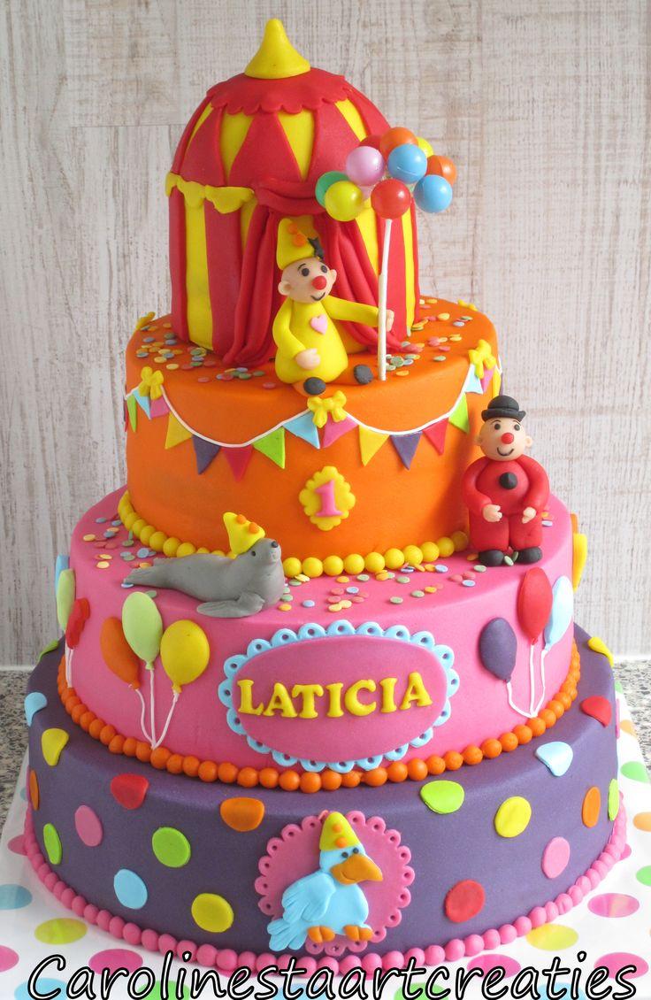 Bumba taart voor een meisje