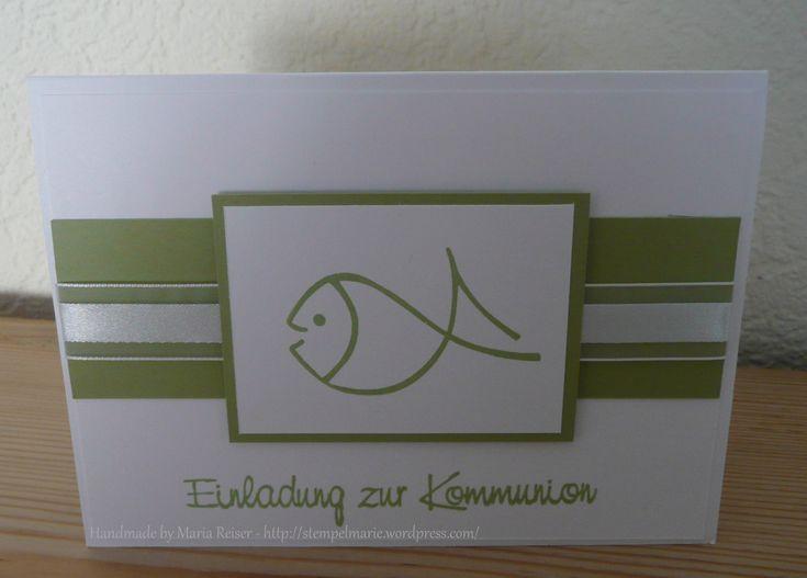 Einladungskarten Kommunion Text