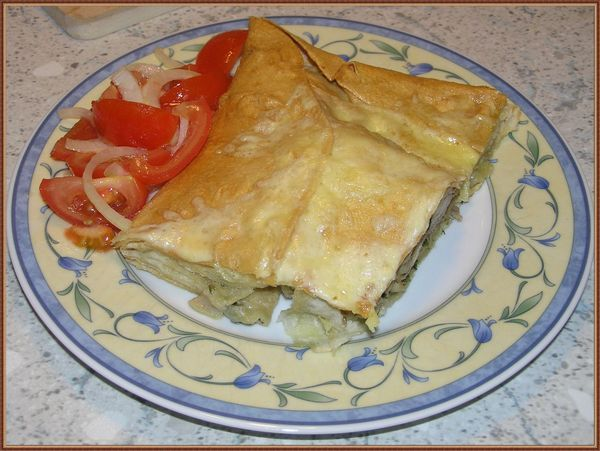 Chicken in a pita_Курица в лаваше от Гаяне - до невозможности просто и на удивление вкусено!