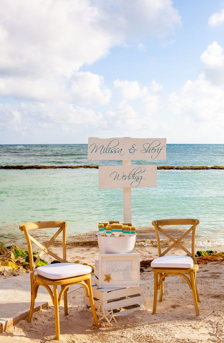 A Cute Spot For Your Guests To Kick Off Their Shoes At Beach Wedding