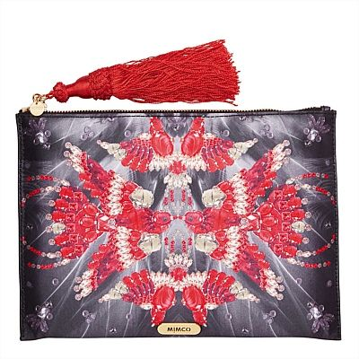 Designer Clutches, Evening Bags, Envelope Clutches | Mimco - Fanciful Flight Pouch