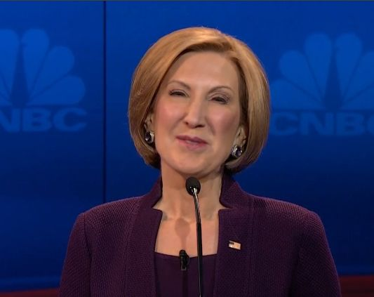 """Carly Fiorina Wants To Know Why She's The Only Chick Who Gets Sexismed-""""Carly Fiorina's 15 minutes sure went by fast."""