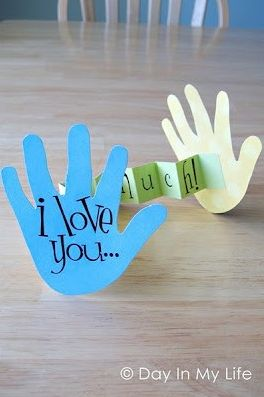 "I love you ""this much""! (could also write more specifics on other side or use as a synonym activity with ""this big"")"
