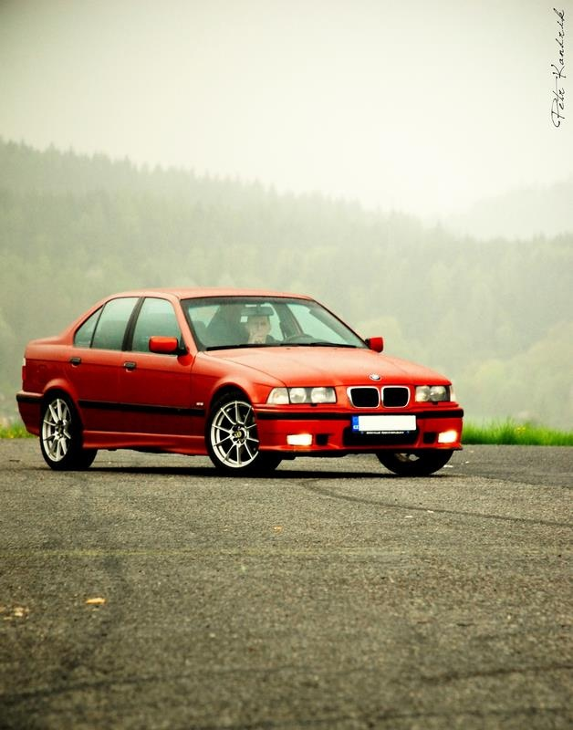Sierra rot metalic One man, one car, one love  BMW