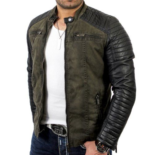 Redbridge Men's Biker Art Leather £52.94 Jacket R-41451 Khaki 2XL Redbridge http://www.amazon.co.uk/dp/B00JFYFQ0Q/ref=cm_sw_r_pi_dp_57EAwb188RKK5