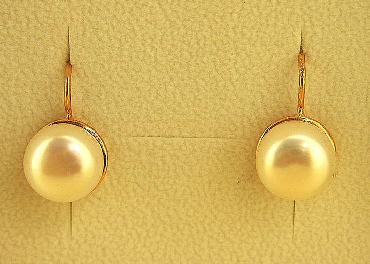 Jewellery-Earrings-Designer-Simply Italian-Large Fresh Water Italian Pearl Earrings
