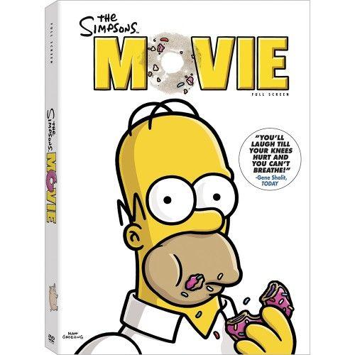Image of The Simpsons Movie (Fullscreen) DVD