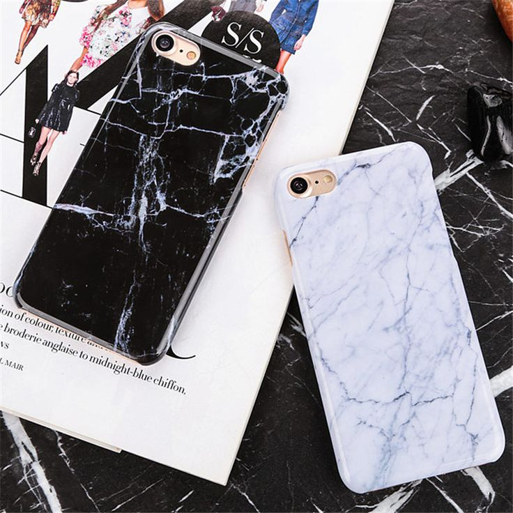 Marble Texture plastic back Cover case for iPhone 6 6S 6Plus 6s plus 7 7Plus 5 5S SE ultra thin Hard PC Granite Stone Phone Case
