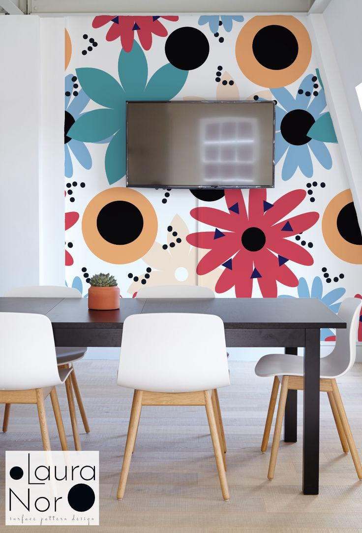 """Popatrz na mój projekt w @Behance: """"Colorful Flowers surface pattern design"""" https://www.behance.net/gallery/54289805/Colorful-Flowers-surface-pattern-design"""