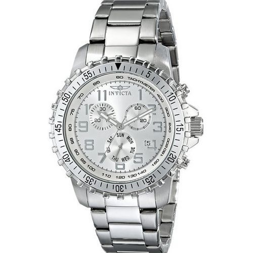 Mens Silver Watch | 25th Wedding Anniversary Gifts For Couples, Husband, Wife, Him, Her