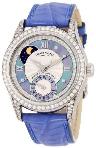 Love the colours! Armand Nicolet Women's 9151L-AK-P915VL8 M03 Classic « Holiday Adds