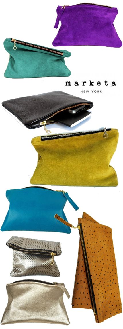 colorful oversize clutches- need to get myself one or some :)