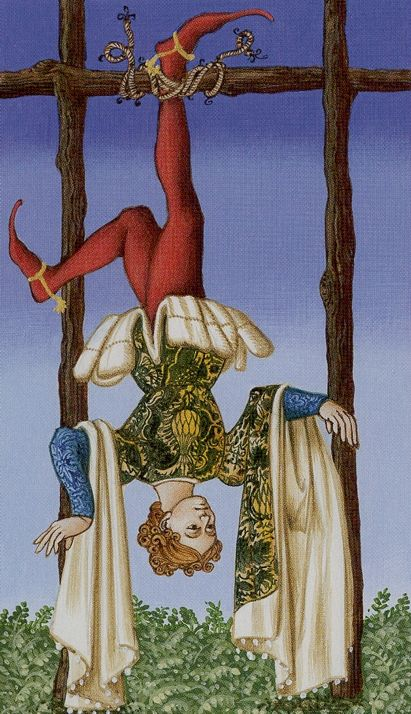 XII. The Hanged Man: Medieval Tarot