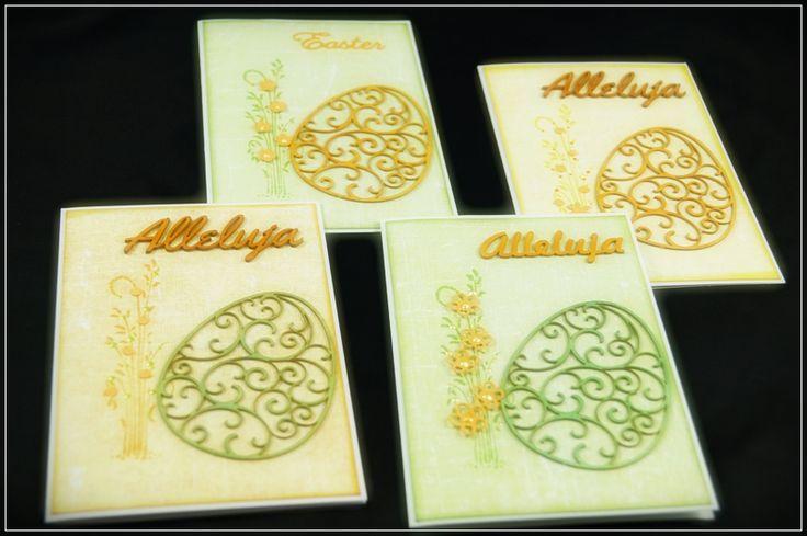 Kartki wielkanocne z tekturką