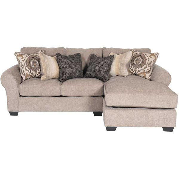 the 2pc with raf chaise sectional by ashley furniture brings comfort u0026 styling to your home